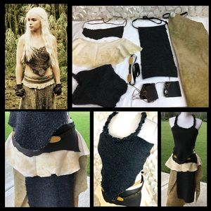 Handmade Khalessi Mother of Dragons Costume